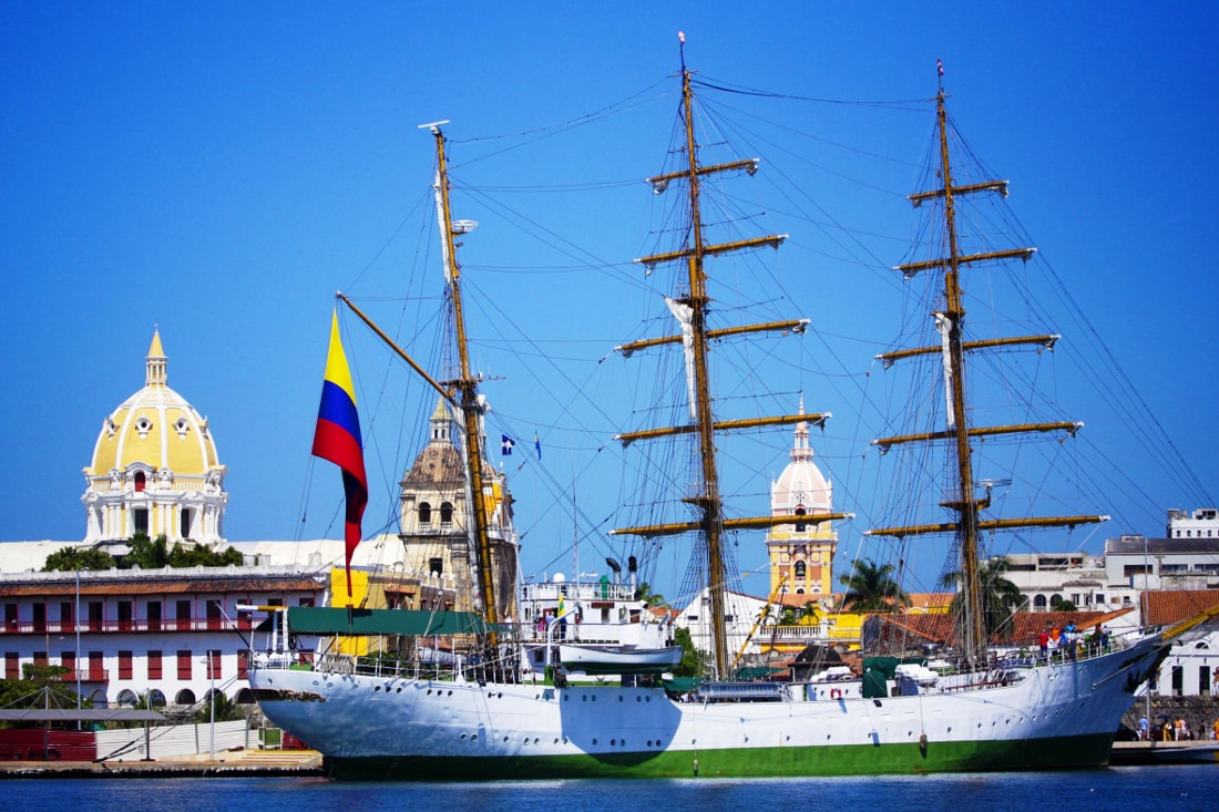 Find pure Caribbean bliss in Colombia's colonial gem of Cartagena